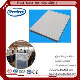 Tuile de plafond de laines de verre de qualité avec le bord carré