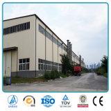 Fabbricato industriale prefabbricato della piccola struttura industriale del metallo
