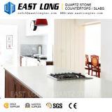 Surface de pierre de quartz lisse durables pour les comptoirs de cuisine