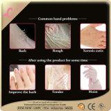 Exfoliating маска руки влаги белая