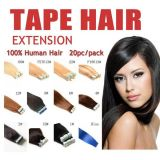 Remy brasiliano poco costoso Ombre Tape Hair Extensions/Double Drawn Double Sided Tape Hair Extensions/Tape in Human Hair Extension