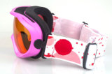 紫外線400 Anti-Fogカスタム女性Motocross Eyewear Sports Goggles