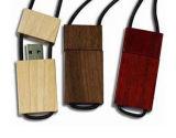 Mecanismo impulsor de madera del flash del USB del regalo con la alta viruta (PZW214)