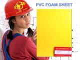 Feuille de mousse PVC jaune pour les entreprises 6-20mm