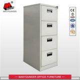 Mobiliário de escritório Armazenamento de metal Vertical 4 Drawer Filing Cabinet