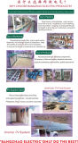 100kw Inversores de energia híbrido de saída completo com transformador de isolamento