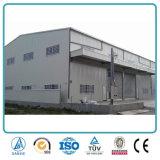 Erschwinglicher große Überspannungs-Stahlkonstruktion-industrieller vorfabrizierter Speicher-Halle-Entwurf