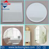 espelho do alumínio de 2mm, de 3mm, de 3.5mm, de 4mm, de 5mm, de 6mm e espelho da prata com borda Grinded ou lustrado