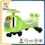 New Fashion Baby Swing Car com música e backrest Wholesale