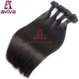 100% de qualidade superior, sedoso, reto, Virgin, cabelo humano brasileiro