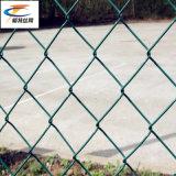 Heißer Verkaufs-Kettenlink-Zaun für das Schützen