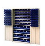 Storage di plastica Box, Spaare Parte Bin con Many Color (SF3215)