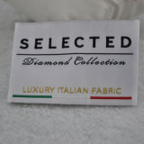 Etiquetas de tecido de tecido de luxo para roupas