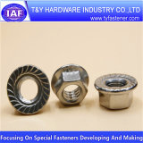Noix 316 de l'acier inoxydable 304 du prix concurrentiel DIN934 DIN6923