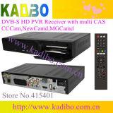 HD DVB-S2 du support du récepteur satellite le logiciel de mise à niveau et de plusieurs cas de partage réseau