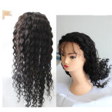 Kinky Curl peruca de cabelo brasileira Remy peruca de renda completa para mulheres