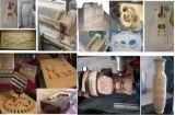 Máquina de la carpintería con el cargamento y la descarga de la máquina del ranurador del CNC
