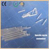 Chromatographisches Zubehör-Gaschromatograph-Quarz-Glas-Zwischenlage Φ 4 * 122cm verschiedene Größen