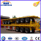 Marcação CCC Tri-Axles 40FT Recipiente de mesa Carreta