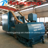 Máquina sin polvo del chorreo con granalla del arenador de la placa de acero de la calidad