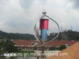 sistema verticale di fuori-Griglia del laminatoio di vento 1000W48V per uso domestico