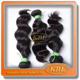 Соткать волос девственницы Aaaa бразильский (KBL-BH)