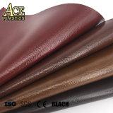 PVC calçados de couro, de couro sintético para Mala em couro de revestimento