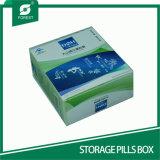 изготовленный на заказ<br/> картонной упаковке таблетки для хранения