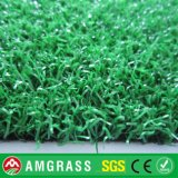 Relvado artificial do golfe Curly e grama sintética