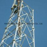 Башня стали радиосвязи ног телекоммуникаций 4 GSM трубчатая