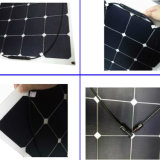 China Fabricantes 100watt Flexible Panel Solar De Célula Solar De Célula Delgada