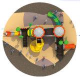 Matériel en plastique HD-Tsb002 de glissière de cour de jeu extérieure de centres de jeu de gosses
