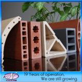 cortina de isolamento painel de revestimento de parede terracota som de material de construção