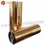 Покрынная золотом металлизированная пленка слоения