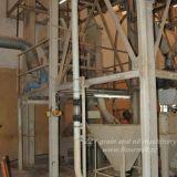 80tpd鉄骨構造の建物が付いているヨーロッパの標準品質の小麦粉の製造所