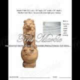 Het Standbeeld van de Leeuw van Carrara van Metrix voor Decoratie ma-222 van het Huis