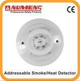 Двойные светоэлектрические дым/тепловой датчик, дым и детектор жары с дистанционным СИД (600-02)
