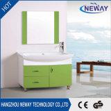 현대 디자인 소형 PVC 지면 대 미러 내각 목욕탕