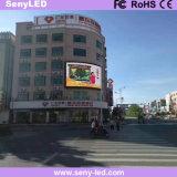 Placa de indicador ao ar livre do diodo emissor de luz de SMD P6 para a propaganda video comercial