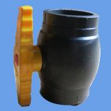 Válvula de bola de polietileno de alta densidad Instalación de tuberías de abastecimiento de agua