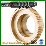 Roda de engrenagem de alta precisão, roda de engrenagem de metal, roda de engrenagem