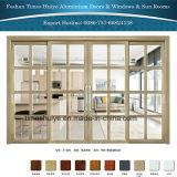 Puertas deslizantes de aluminio resistentes con 2/3/4 Panles