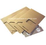 De Zak van de Verpakking van het Document van Kraftpapier van de Noten van het gedroogd fruit met de Duidelijke Zak van pvc