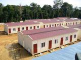 Costruzione residenziale prefabbricata Constructtion della struttura del blocco per grafici d'acciaio