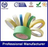 Fita de máscara de papel Crepe de propósito geral com adesivo forte