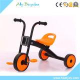 Tricycle en ligne d'acier de modèle des prix de tricycles de jaune de pièces de constructeurs