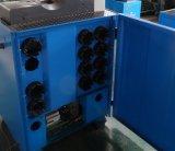 Seiten-geöffnete Seite, welche die hydraulischer Schlauch-quetschverbindenmaschine erhältlich für das Verbiegen und Flansch führt