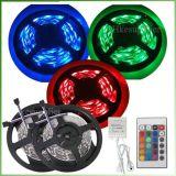 Luz flexible de la tira 5050 SMD RGB LED del LED