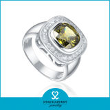 Comercio al por mayor nuevo diseño anillo de dedo de la Plata