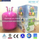 Globo de helio el cilindro de fiesta